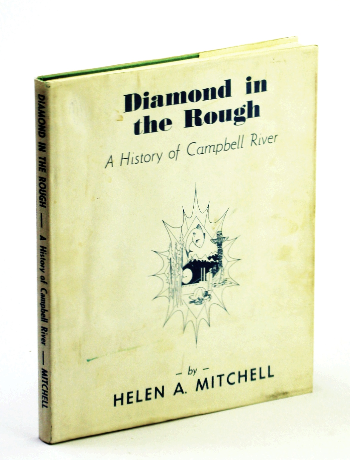Image for Diamond in the rough;: A history of Campbell River,