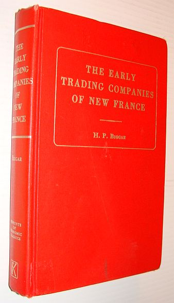 Image for Early Trading Companies of New France (Reprints of economic classics)