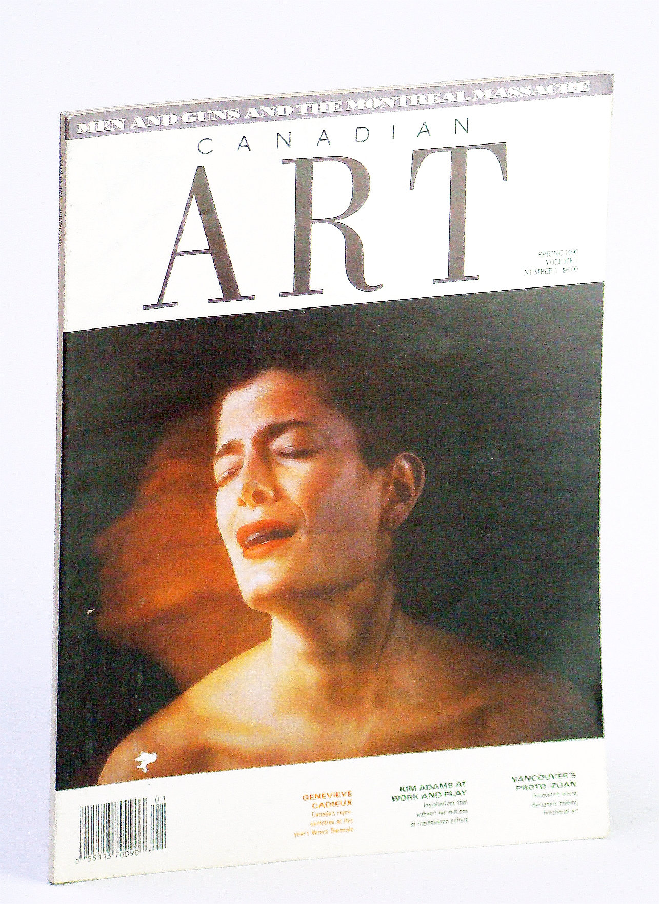 Image for Canadian Art (Magazine), Spring 1990, Volume 7, Number 1 - Genevieve Cadieux / Julie Voyce