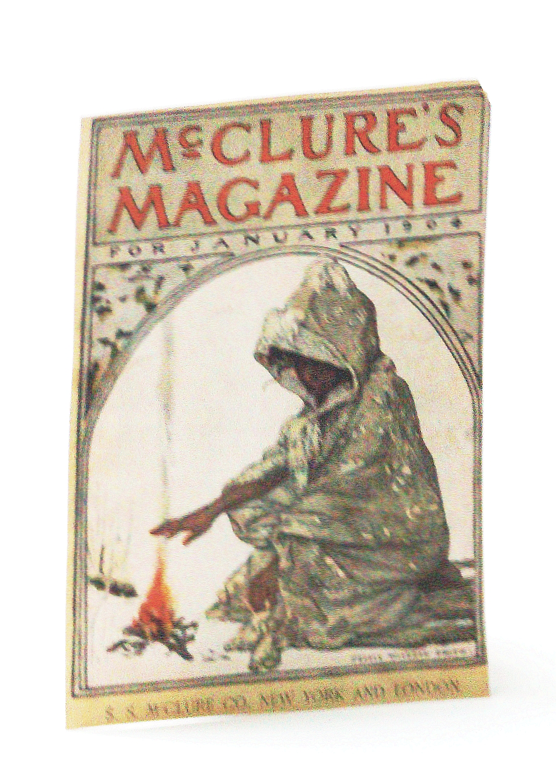 Image for McClure's Magazine, January (Jan.) 1904 - Cover Only