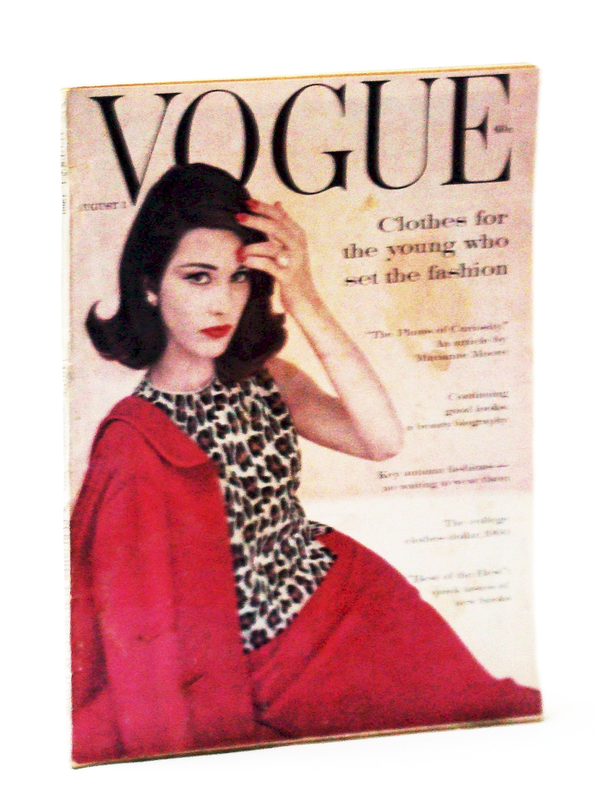Image for Vogue Magazine (American), August (Aug.) 1, 1960, Vol. 136, No. 2, Whole No. 2042