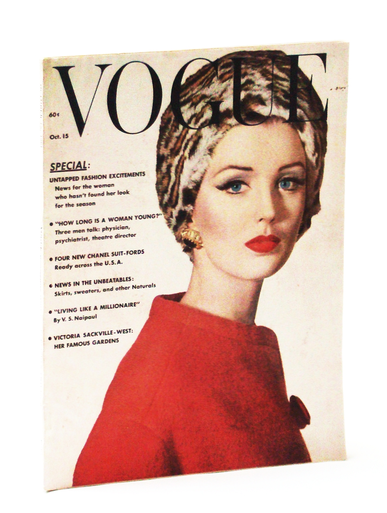 Image for Vogue Magazine (American), October (Oct.) 15, 1961, Vol. 138, No. 7, Whole No. 2067