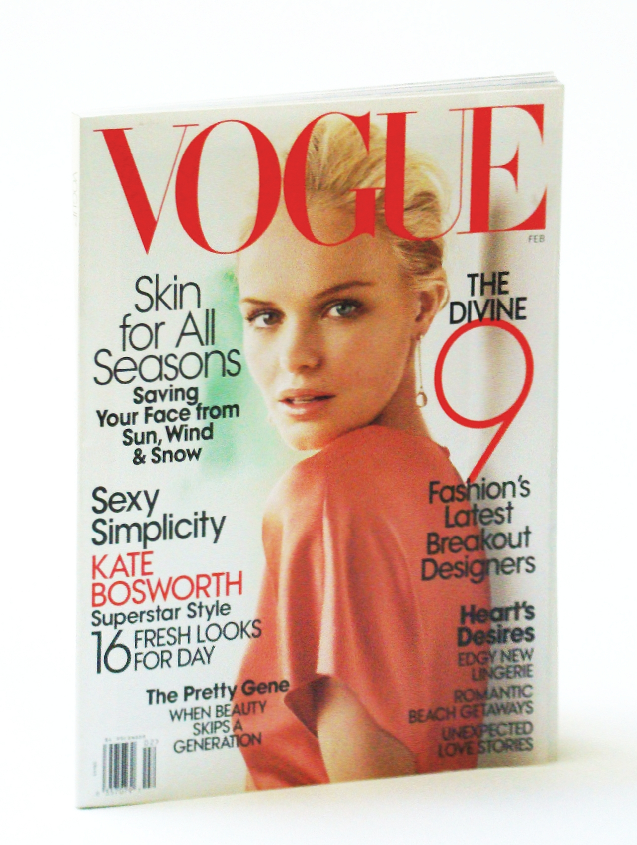 Image for Vogue Magazine (February, 2008) Kate Bosworth Cover