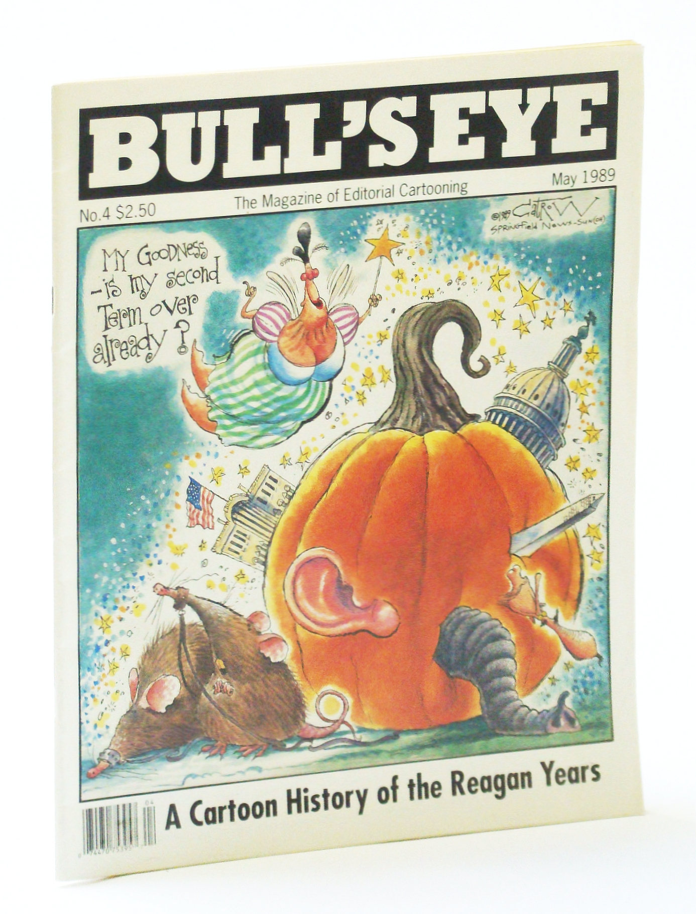 Image for Bull's Eye - The Magazine of Editorial Cartooning No. 4 (May 1989)