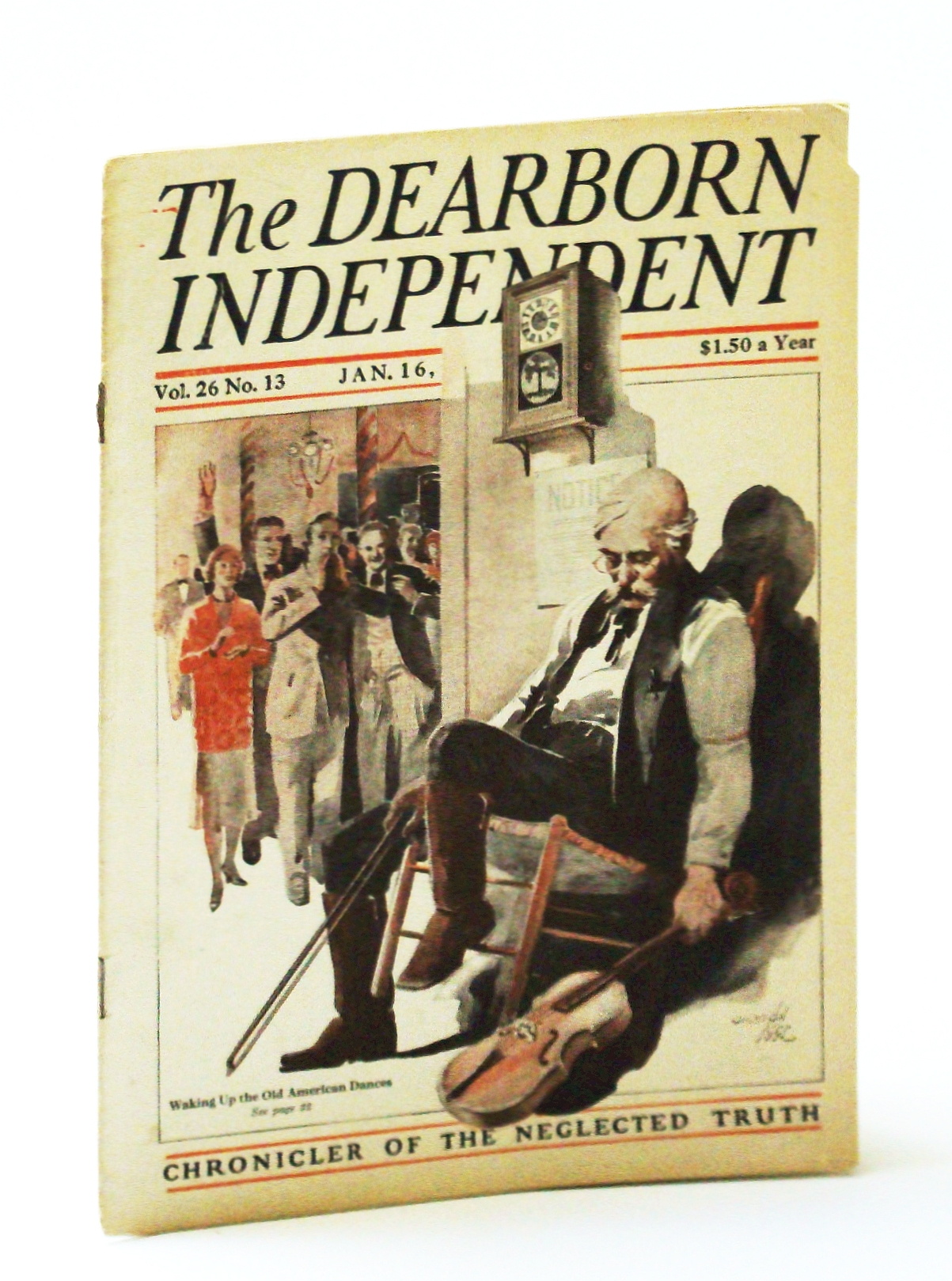 Image for The Dearborn Independent - Chronicler of the Neglected Truth, January (Jan.) 16, 1926, Volume 26, Number 13 - A Shylock Nation?