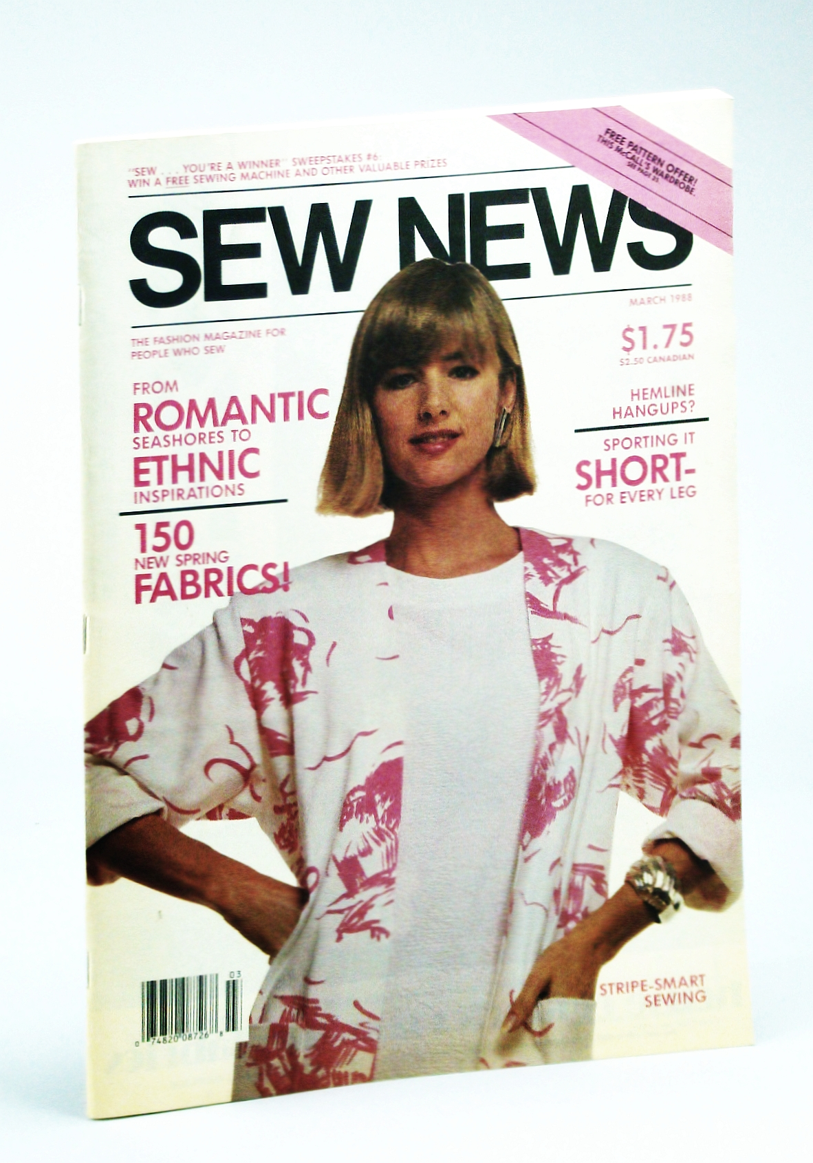 Image for Sew News - The Fashion Magazine For People Who Sew, Number 66, March [Mar.] 1988 - Olympic Outfitters