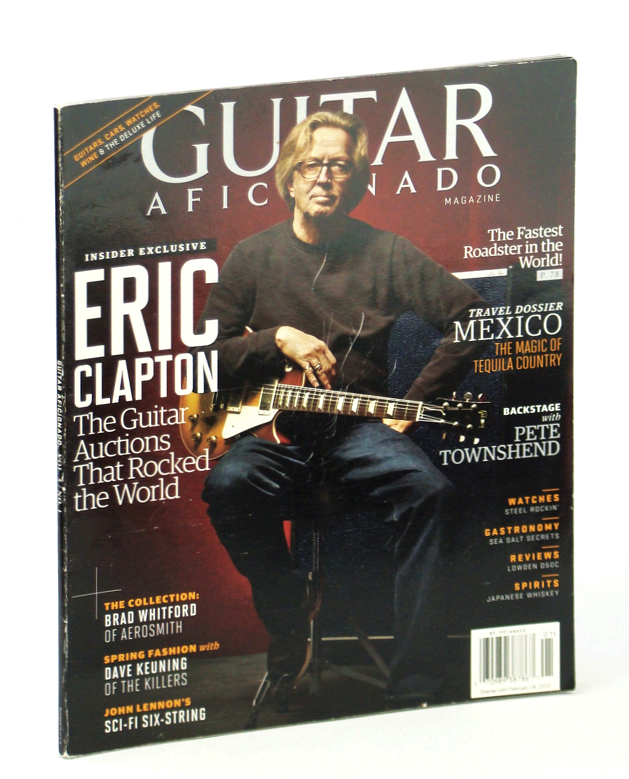 Image for Guitar Aficionado Magazine January/February 2013