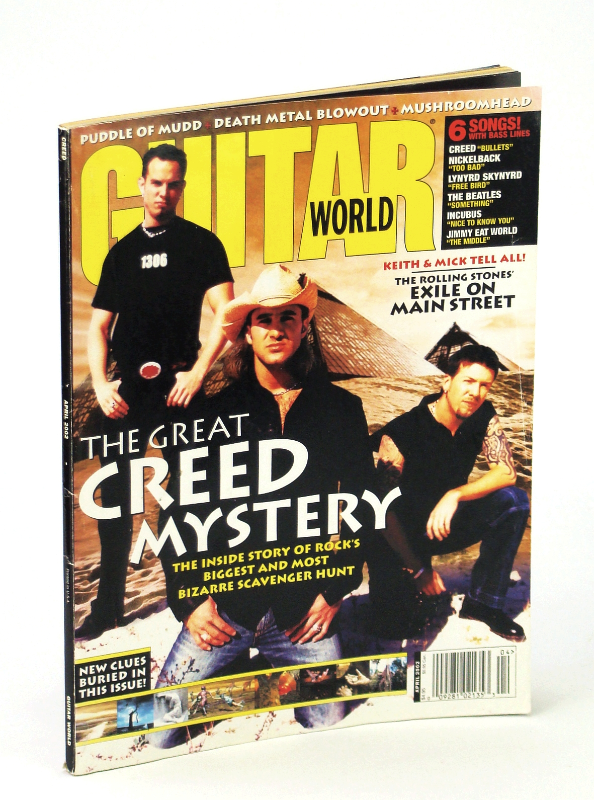 Image for Guitar World - April 2002 (Guitar World, Vol. 22 No. 4)