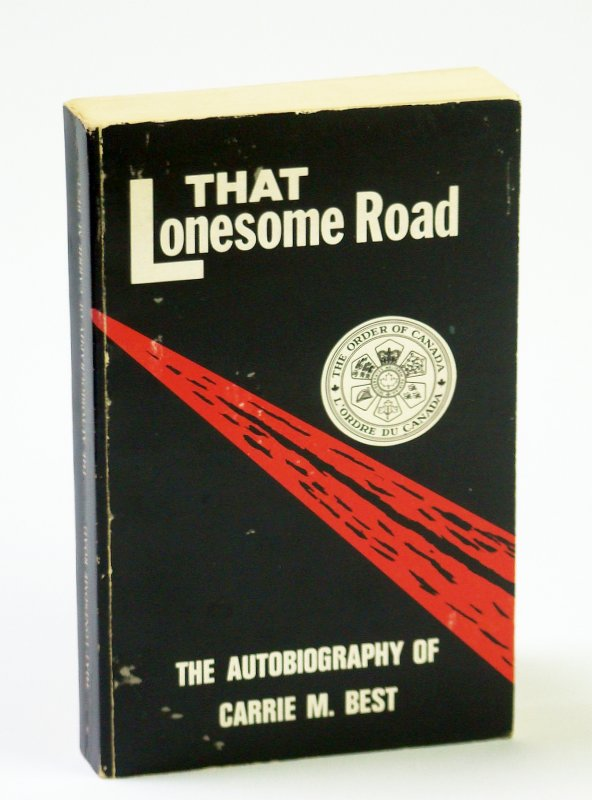 Image for That Lonesome Road - The Autobiography of Carrie M. Best