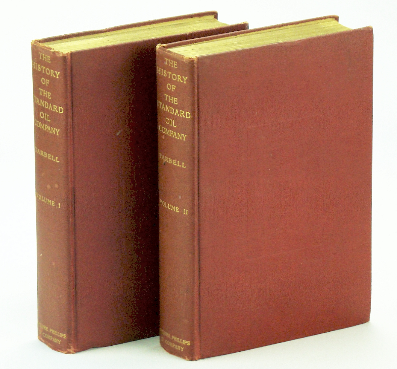 Image for The History of The Standard Oil Company - First Edition, Complete in Two Volumes