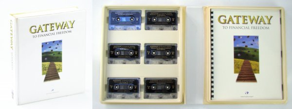Image for Gateway to Financial Freedom: Twelve (12) Audio Casette Tapes and Guidebook in Clamshell Case