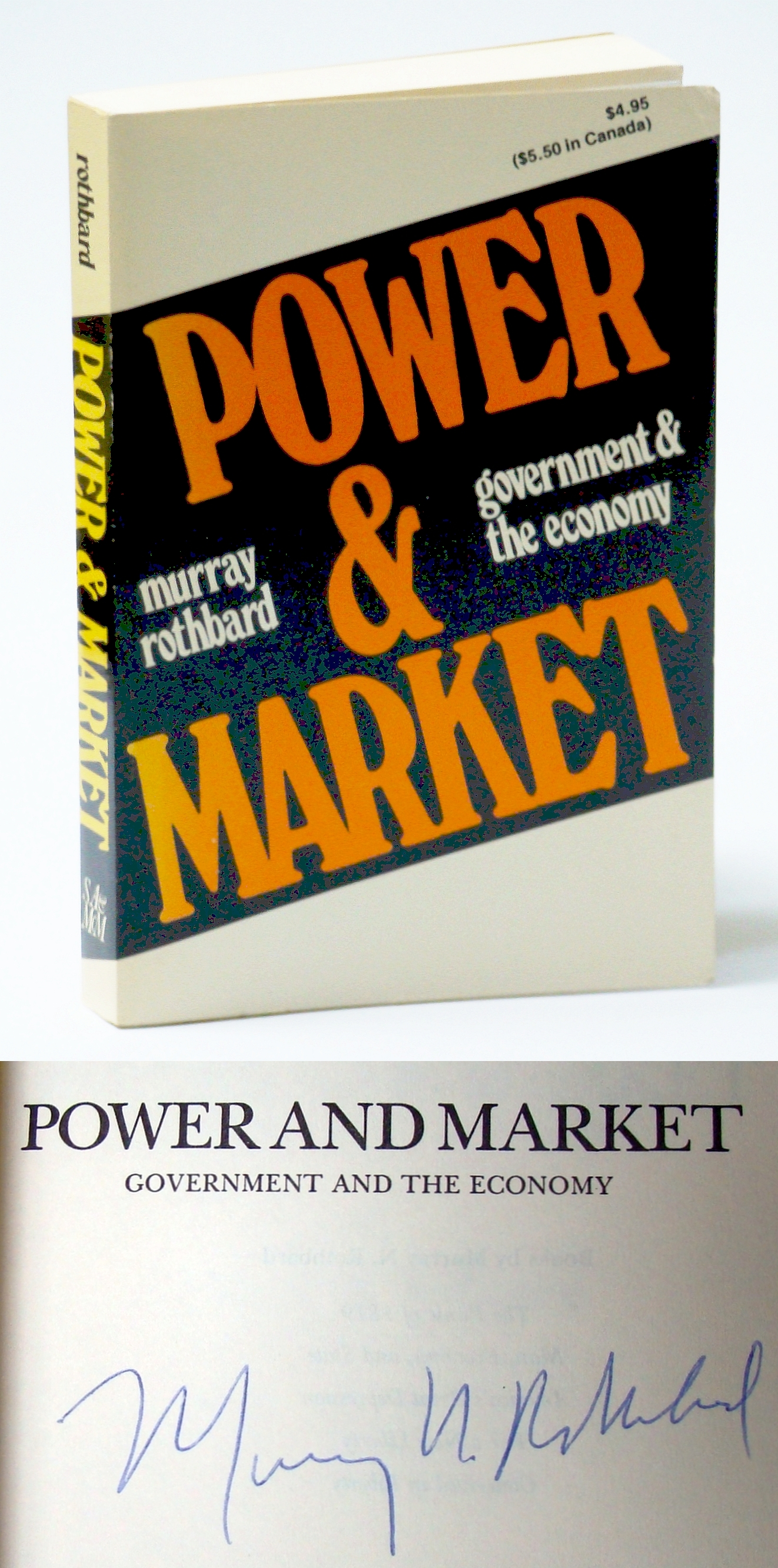 Image for Power and Market: Government and the Economy