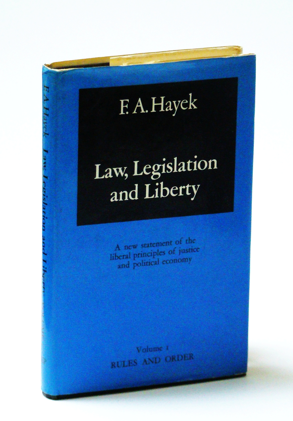 Image for Rules and order (His Law, legislation and liberty)