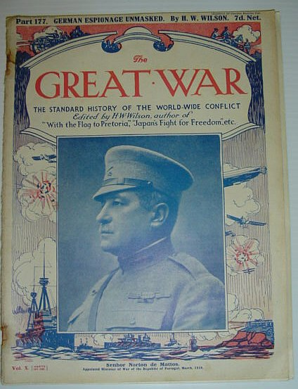 Image for The Great War - The Standard History of the World-Wide Conflict: Part 177, January 5th, 1918 -  German Espionage Unmasked