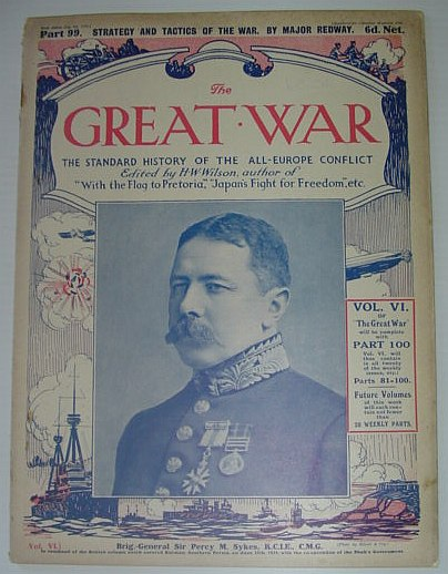 Image for The Great War - The Standard History of the All-Europe Conflict: Part 99 - Strategy and Tactics of the War, July 8th, 1916