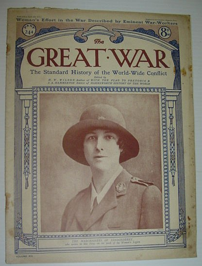 Image for The Great War Magazine - Part 244 - 19 April 1919  - Woman's Effort in the War Described By Eminent War-Workers