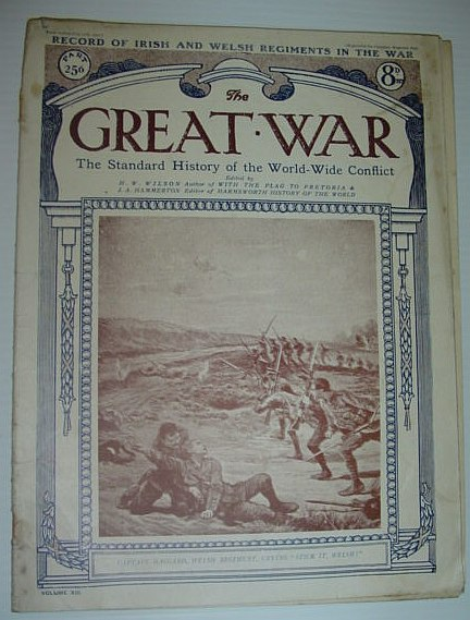 Image for The Great War Magazine - Part 256 - 12 July 1919 *Record of Irish and Welsh Regiments in the War*