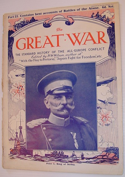 Image for The Great War Magazine - Part 25: The Standard History of the All-Europe Conflict (World War 1/One)  February 6th, 1915