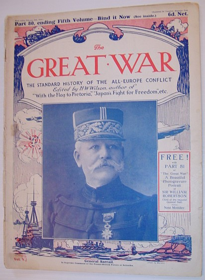 Image for The Great War Magazine - Part 80: The Standard History of the All-Europe Conflict (World War 1/One)  February 20th, 1916
