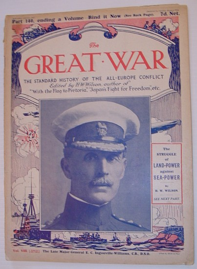 Image for The Great War Magazine - Part 140: The Standard History of the All-Europe Conflict (World War 1/One)  April 21st, 1917