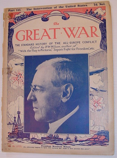 Image for The Great War Magazine - Part 143: The Standard History of the All-Europe Conflict (World War 1/One)  May 12th, 1917