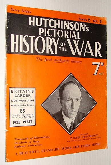 Image for Hutchinson's Pictorial History of the War, Series 2, No. 2, November 1st - 7th, 1939