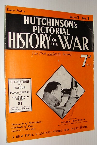 Image for Hutchinson's Pictorial History of the War, Series 2, No. 3, November 8th - 14th, 1939