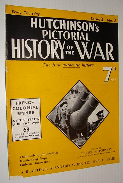 Image for Hutchinson's Pictorial History of the War, Series 3, No. 2, December 27th, 1939 - , January 2nd, 1940