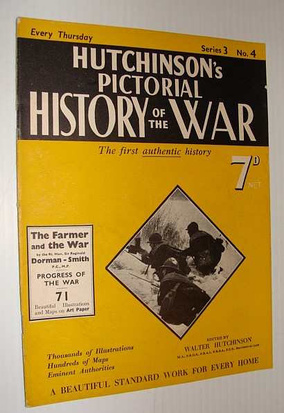 Image for Hutchinson's Pictorial History of the War, Series 3, No. 4, January 10, 1939 - , January 16, 1940