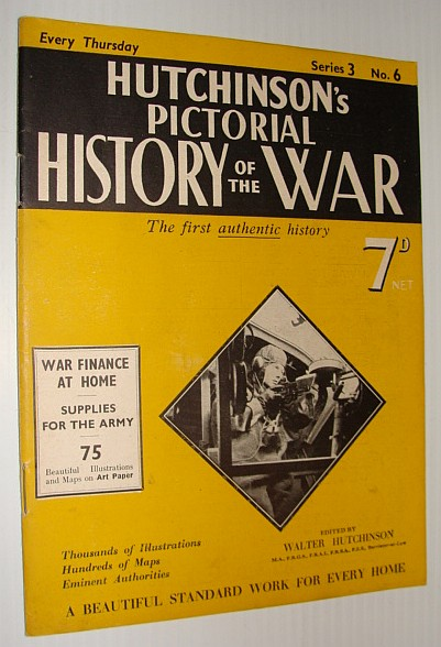 Image for Hutchinson's Pictorial History of the War, Series 3, No. 6, 24 January 1940 - 30 January, 1940