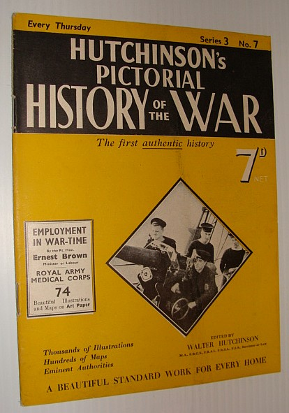 Image for Hutchinson's Pictorial History of the War, Series 3, No. 7, 31 January 1940 - 6 February, 1940