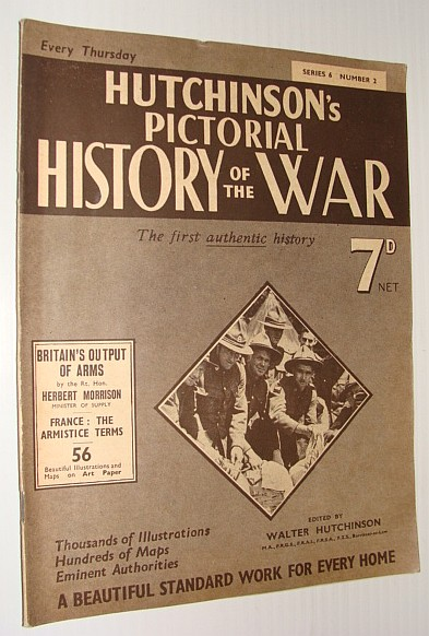 Image for Hutchinson's Pictorial History of the War, Series 6, No. 2, 19 June 1940 - 25 June, 1940