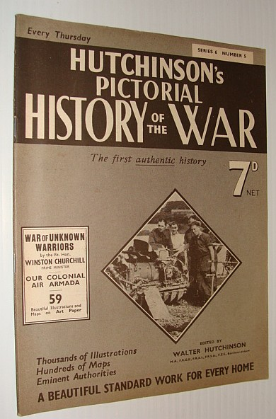 Image for Hutchinson's Pictorial History of the War, Series 6, Number 5, July 10 - July 16, 1940