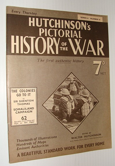Image for Hutchinson's Pictorial History of the War, Series 6, Number 8, July 31 - August 6, 1940