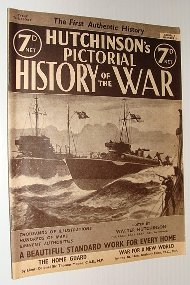 Image for Hutchinson's Pictorial History of the War, Series 7, Number 1, August 7 - August 13, 1940