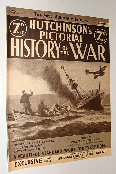 Image for Hutchinson's Pictorial History of the War, Series 7, Number 2, August 14 - August 20, 1940