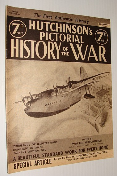 Image for Hutchinson's Pictorial History of the War, Series 7, Number 4, August 28 - September 3, 1940