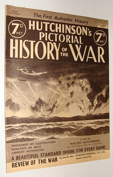 Image for Hutchinson's Pictorial History of the War, Series 7, Number 5, September 4 - September 10, 1940