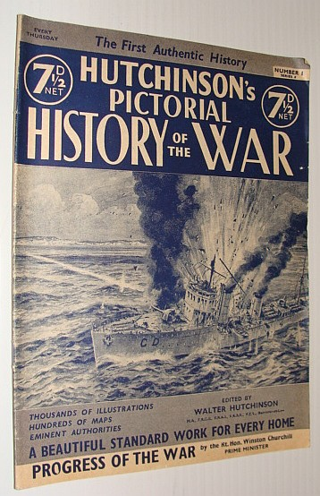 Image for Hutchinson's Pictorial History of the War, Series 8, Number 1, October 2 - October 8, 1940
