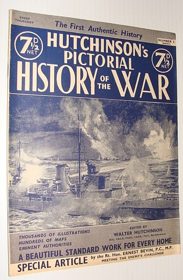 Image for Hutchinson's Pictorial History of the War, Series 8, Number 2, October 9 - October 15, 1940