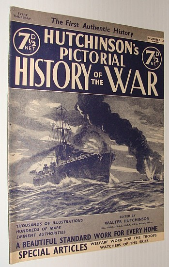 Image for Hutchinson's Pictorial History of the War, Series 8, Number 3, October 16 - October 22, 1940
