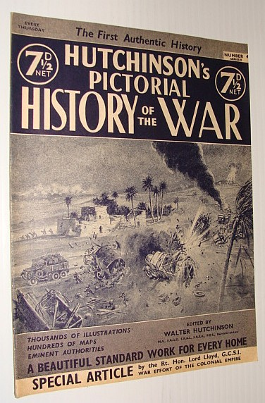 Image for Hutchinson's Pictorial History of the War, Series 8, Number 4, October 23 - October 29, 1940