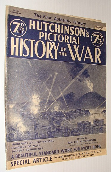 Image for Hutchinson's Pictorial History of the War, Series 8, Number 5, October 30 - November 5, 1940