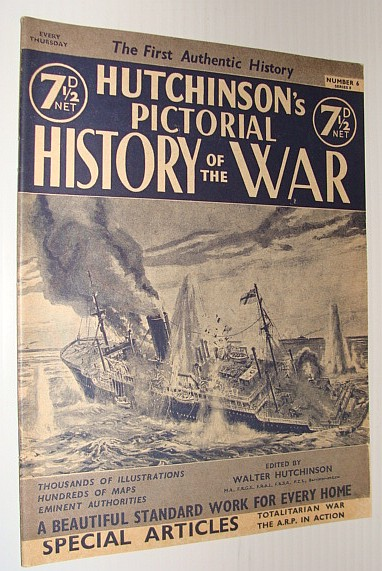 Image for Hutchinson's Pictorial History of the War, Series 8, Number 6, November 6 - November 12, 1940