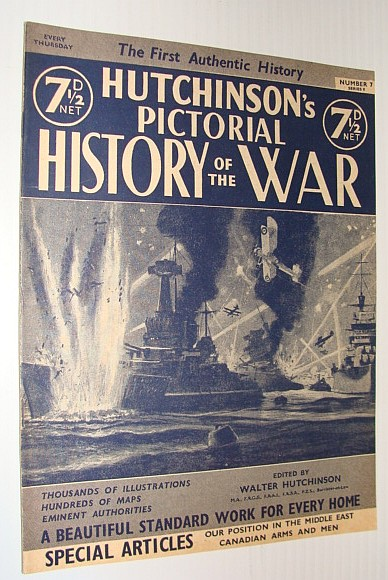 Image for Hutchinson's Pictorial History of the War, Series 8, Number 7, November 13 - November 19, 1940