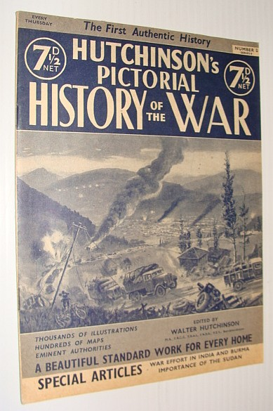 Image for Hutchinson's Pictorial History of the War, Series 8, Number 8, November 20 - November 26, 1940