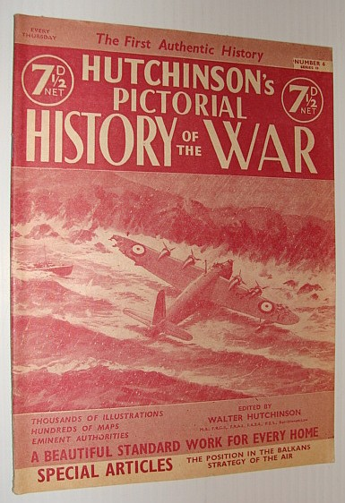 Image for Hutchinson's Pictorial History of the War, Series 10, Number 6, February 26 - March 4, 1941