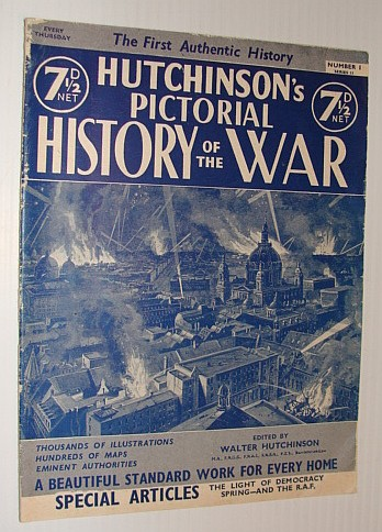Image for Hutchinson's Pictorial History of the War, Series 11, Number 1, March 19 - 25, 1941