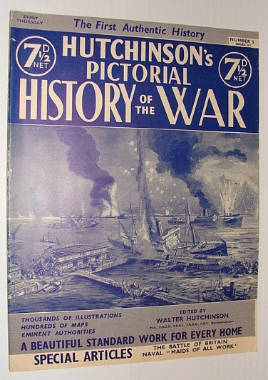 Image for Hutchinson's Pictorial History of the War, Series 11, Number 5, April 16 - 22, 1941