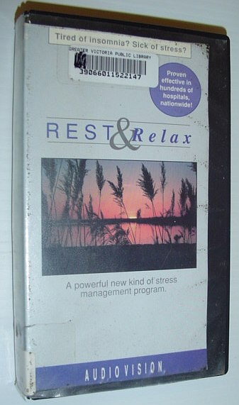 Image for Rest and Relax: 27 Minute VHS Video Tape with Case